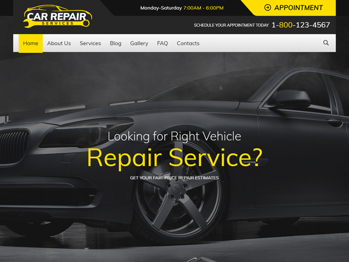 car repair services child